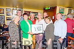 Pictured at the launch of the 7th Annual Gary McMahon Singing Weekend, last Friday night in The Ramble Inn, Abbeyfeale was l-r: Mary O'Connor, Joe O'Connor, Chis O'Shea, Owen McMahon, Treasa McMahon,Rossa McMahon, Joan McMahon and Tom McKenna.