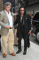 NEW YORK,NY - August 14, 2012: Tom Bernard, president of Sony Pictures Classics, with Rodriguez at Late Show With David Letterman in New York City. &copy; RW/MediaPunch Inc. /NortePhoto.com<br />