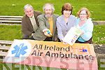 LOTTO:  At the launch of the Irish Air Ambulance launch in the Ballyroe Hotel on Tuesday afternoon from l-r were: Cllr. Pat McCarthy, Derek Rowe, Kathleen O'Connor and Niamh Dunne.