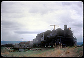 #487 K-36 hauling freight<br /> D&amp;RGW