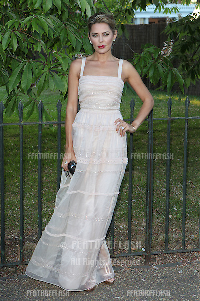 Danielle Lineker arriving for the Serpentine Summer Party, at the Serpentine Gallery, Hyde Park, London. 01/07/2014 Picture by: Alexandra Glen / Featureflash