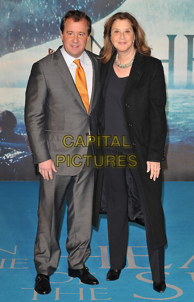 Will Ward &amp; Paula Weinstein attend the &quot;In The Heart Of The Sea&quot; European film premiere, Empire cinema, Leicester Square, London, UK, on Wednesday 02 December 2015.<br /> CAP/CAN<br /> &copy;CAN/Capital Pictures