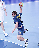 Australia's Callum Mouncey during 23rd Men's Handball World Championship preliminary round match.January 14,2013. (ALTERPHOTOS/Acero) /NortePhoto