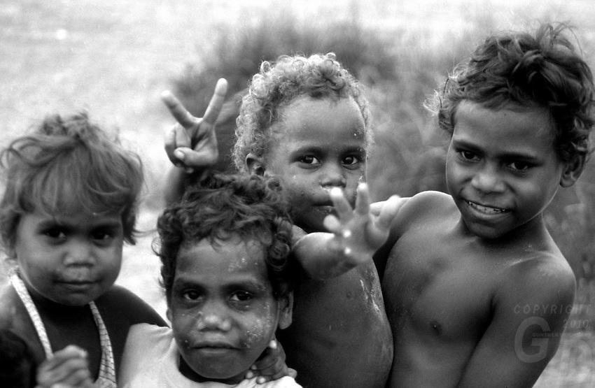 Aboriginal Children north western Australia