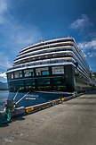 USA, Alaska, Ketchikan, ALASKA, Ketchikan, the cruise ship, ms Oosterdam, downtown at Port
