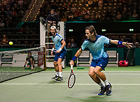 Rotterdam, The Netherlands, 14 Februari 2019, ABNAMRO World Tennis Tournament, Ahoy, Wesley Koolhof (NED) / Jurgen Melzer (AUT),<br /> Photo: www.tennisimages.com/Henk Koster