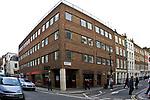 Londyn, 2009-03-05. Great Pulteney Street - siedziba agencji fotograficznej Image Source. Londyńska dzielnica Soho.