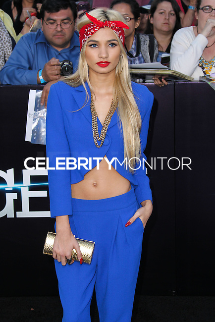 "WESTWOOD, LOS ANGELES, CA, USA - MARCH 18: Pia Mia Perez at the World Premiere Of Summit Entertainment's ""Divergent"" held at the Regency Bruin Theatre on March 18, 2014 in Westwood, Los Angeles, California, United States. (Photo by Xavier Collin/Celebrity Monitor)"