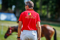 BEL-Kris Vervaecke's Guantanamp Van Alsingen after the Cross Country for the CCIO4*-S FEI Nations Cup Eventing. 2019 FRA-Le Grand Complet at Le Haras du Pin. Saturday 10 August. Copyright Photo: Libby Law Photography
