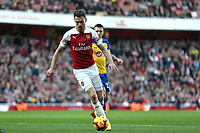 Aaron Ramsey of Arsenal during Arsenal vs Southampton, Premier League Football at the Emirates Stadium on 24th February 2019