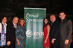 Guiding Light's Sean McDermott poses with Bridgehampton National Bank members at The 29th Annual Jane Elissa Extravaganza which benefits The Jane Elissa Charitable Fund for Leukemia & Lymphoma Cancer, Broadway Cares and other charities on November 14, 2016 at the New York Marriott Hotel, New York City presented by Bridgehampton National Bank and Walgreens.  The event is a Cabaret with singer Sean McDermott (Guiding Light) (Photo by Sue Coflin/Max Photos)