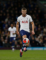7th March 2020; Turf Moor, Burnley, Lanchashire, England; English Premier League Football, Burnley versus Tottenham Hotspur; Eric Dier of Tottenham Hotspur lists the ball forward