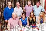 Some members of the Duagh Family Centre staff attending their Christmas party last Saturday night in the Devon Inn Hotel.<br /> <br /> Seated: Maurice Quirke, Fiona McGlinn,Yvonne Carmody, Patrice Danaher.<br /> Standing: Michael O' Carroll, Cornelius Ward, Timmy Horan, Richie Curtin.