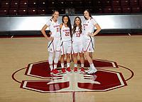 Stanford, CA -- November 1, 2018: 2018-2019 Stanford Women's Basketball Team.
