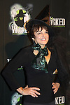 As The World Turns Priscilla Lopez and starred in Wicked  - The blockbuster musical, Wicked, celebrates its 10th Anniversary on Broadway, a milestone achieved by only ten other Broadway productions in history on October 30, 2013 at the Gershwin Theatre, New York City followed by the red carpet at the Edison Ballroom with current, alumni and creative team.  (Photo by Sue Coflin/Max Photos)