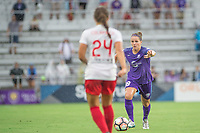 Orlando, FL - Saturday July 01, 2017: Maddy Evans during a regular season National Women's Soccer League (NWSL) match between the Orlando Pride and the Chicago Red Stars at Orlando City Stadium.