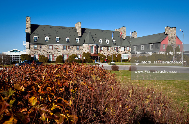 Le Manoir du Saguenay is pictured in the Arvida district of Saguenay, 225km North East of Quebec City Wednesday November 10, 2010. Now offices for Rio Tinto-Alcan, The Manoir was the first hotel built and is located in the perimeter sets to be declared heritage site.