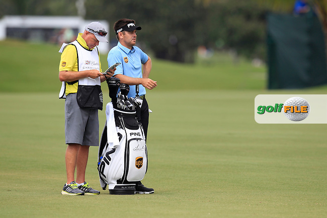 Rickie Fowler (USA) during the 3rd round at the WGC Cadillac Championship, Blue Monster, Trump National Doral, Doral, Florida, USA<br /> Picture: Fran Caffrey / Golffile