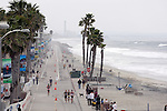 OCEANSIDE, CA- APRIL 2:  A general view of the run course along the boardwalk during Rohto Ironman 70.3 California in Oceanside, California on April 2, 2011. (Photo by Donald Miralle for LAVA Magazine) *** Local Caption ***