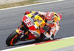 03.06.2016. Barcelona FIM Gran Premio de Catalunya. Entrenos libres.Marc Marquez