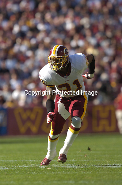 20 November 2005:Sean Taylor (21)..The Oakland Raiders defeated the Washington Redskins 16-13  at FedEx Field in Landover, MD.