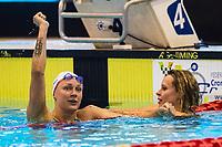 Sarah Sjostrom SWE Sweden<br /> Federica Pellegrini ITA Italy<br /> day 01  08-08-2017<br /> Energy For Swim<br /> Rome  08 -09  August 2017<br /> Stadio del Nuoto - Foro Italico<br /> Photo Deepbluemedia/Insidefoto