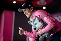 Richard Carapaz (ECU/Movistar)<br /> <br /> Stage 17: Commezzadura (Val di Sole) to Anterselva/Antholz (181km)<br /> 102nd Giro d'Italia 2019<br /> <br /> ©kramon