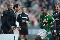 Fussball Bundesliga 2013/2014: SV Werder Bremen - 1. FC Nuernberg