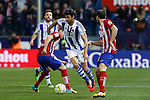 Real Sociedad´s Xabi Prieto during 2015-16 La Liga match between Atletico de Madrid and Real Sociedad at Vicente Calderon stadium in Madrid, Spain. March 01, 2016. (ALTERPHOTOS/Victor Blanco)