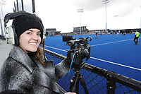 Live streaming at the Rankin Cup and India Shield 2019 Secondary School Hockey Tournament, Nga Puna Wai Sports Hub, Christchurch, Saturday 07 September 2019. Photo: Martin Hunter/Hockey NZ