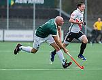AMSTELVEEN -  Glenn Turner (R'dam)    tijdens de hoofdklasse competitiewedstrijd heren, AMSTERDAM-ROTTERDAM (2-2). COPYRIGHT KOEN SUYK