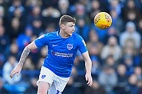 Dion Donohue of Portsmouth during Portsmouth vs Doncaster Rovers, Sky Bet EFL League 1 Football at Fratton Park on 2nd February 2019