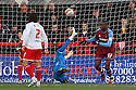 Enoch Showunmi of Tranmere sees his effort ruled out for offside. - Stevenage v Tranmere Rovers - npower League 1 - Lamex Stadium, Stevenage - 17th December 2011  .© Kevin Coleman 2011 ... ....  ...  . .
