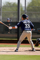 Jason Hagerty - San Diego Padres 2009 Instructional League.Photo by:  Bill Mitchell/Four Seam Images..