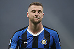Milan Skriniar of Inter during the Serie A match at Giuseppe Meazza, Milan. Picture date: 9th February 2020. Picture credit should read: Jonathan Moscrop/Sportimage