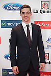 Javier Fernandez attends the 2015 As Sports Awards ceremony in Madrid, Spain. December 14, 2015. (ALTERPHOTOS/Victor Blanco)