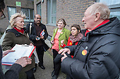 Tulip Siddiq, Neil and Glenys Kinnock, Emily Thornbury MP.  General election 2015: Tulip Siddiq, Labour candidate for Hampstead & Kilburn, the second most marginal seat in the UK, canvasses voters in Swiss Cottage.