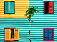 La Boca windows