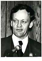1980 05 09Jean CHRETIEN, Ministre de la Justice, Canada lors du congres du Barreau du Quebec, le 9 mai 1980.<br /> <br /> <br /> PHOTO :  Agence Quebec Presse