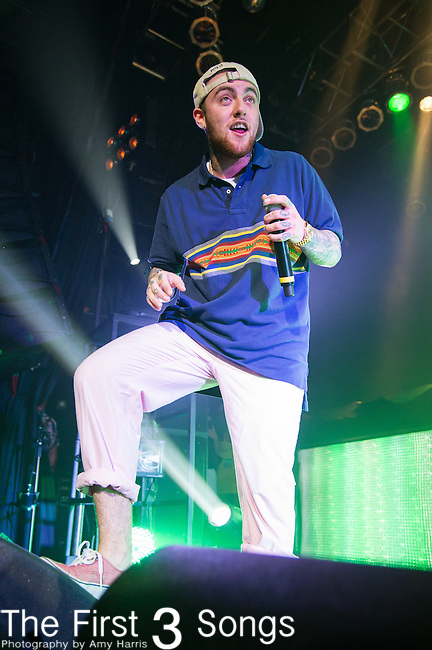 Mac Miller (Malcolm James McCormick) performs at the House of Blues in Cleveland, Ohio.