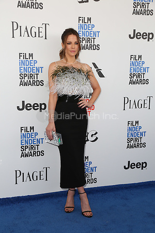 SANTA MONICA, CA - FEBRUARY 25: Kate Beckinsale attends the 2017 Film Independent Spirit Awards at Santa Monica Pier on February 25, 2017 in Santa Monica, California.  (Credit: Parisa Afsahi/MediaPunch).