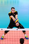 18.09.2019, Lotto Arena, Antwerpen<br />Volleyball, Europameisterschaft, Deutschland (GER) vs. Slowakei (SVK)<br /><br />Annahme Denys Kaliberda (#6 GER)<br /><br />  Foto © nordphoto / Kurth