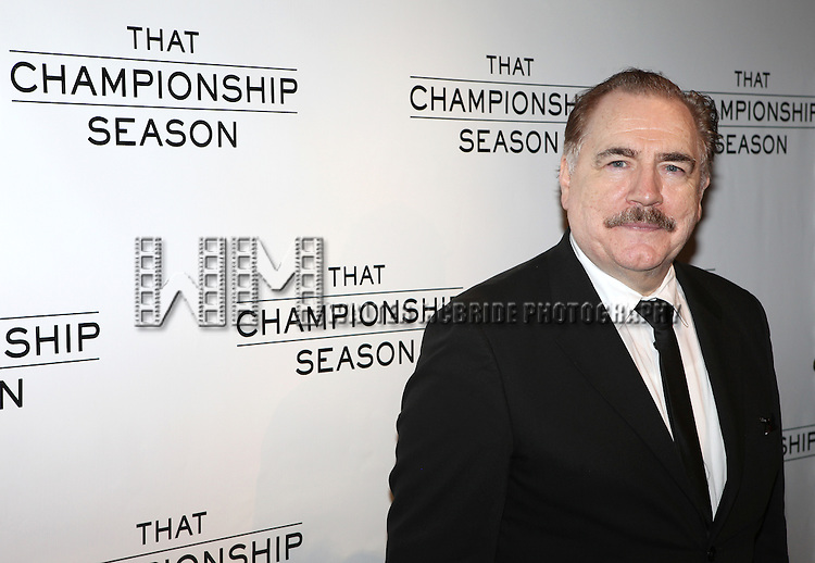 Brian Cox.attending the Opening Night Performance After Party for  'That Championship Season' at Gotham Hall in New York City.