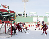 - The Boston College Eagles practiced at Fenway on Monday, January 9, 2017, in Boston, Massachusetts. - The Boston College Eagles practiced at Fenway on Monday, January 9, 2017, in Boston, Massachusetts.