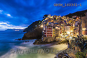 Tom Mackie, LANDSCAPES, LANDSCHAFTEN, PAISAJES, photos,+Cinque Terre, EU, Europa, Europe, European, Italia, Italian, Italy, Liguria, Mediterranean, Riomaggiore, Tom Mackie, atmosphe+re, atmospheric, blue, blue hour, cliff, cliffs, cliffside, cloud, clouds, cloudscape, coast, coastal, coastline, coastlines,+destination, destinations, dramatic outdoors, harbor, harbour, holiday destination, horizontally, horizontals, night time, n+ightscene, sea, time of day, tourism, tourist attraction, town, travel, twilight, village,Cinque Terre, EU, Europa, Europe,+,GBTM160361-1,#L#