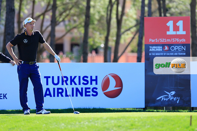 during round 2 of the Turkish Airlines Open presented by the Ministry of Tourism and Culture, hosted at the The Montgomerie Maxx Royal,Antalya,Turkey.<br /> Picture: Fran Caffrey www.golffile.ie