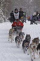 Josh Cadzow Saturday, March 3, 2012  Ceremonial Start of Iditarod 2012 in Anchorage, Alaska.