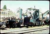 D&amp;RGW spreader #OU in Chama.<br /> D&amp;RGW  Chama, NM