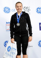 Photo: Richard Lane/Richard Lane Photography. GE Parc Bryn Bach Triathlon. 19/09/2010. Lucy Smith, winner of the  Junior Super Series Women Champions.