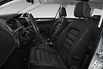 Front seat view of 2017 Volkswagen Golf Alltrack Base 5 Door Wagon front seat car photos